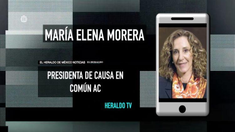 maría Elena Morera Causa en Común