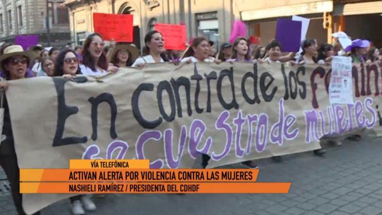 alerta genero Nashieli Ramírez Derechos Humanos El Heraldo TV