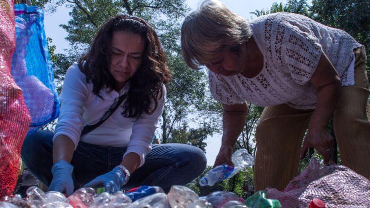 plastianguis Cuauhtémoc CDMX reciclaje El Heraldo TV
