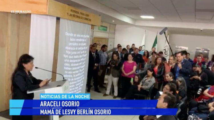 feminicidios memorial PGJ El Heraldo TV Noticias de la noche