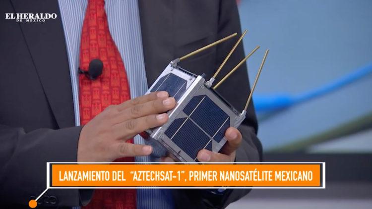 Lanzamiento de primer nanosatélite mexicano en la NASA