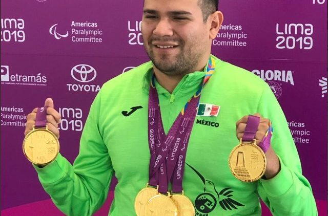 Diego López , atleta paralímpico
