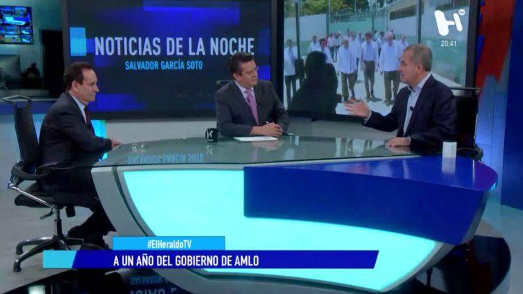AMLO INE El Heraldo TV Noticias de la noche informe gobierno