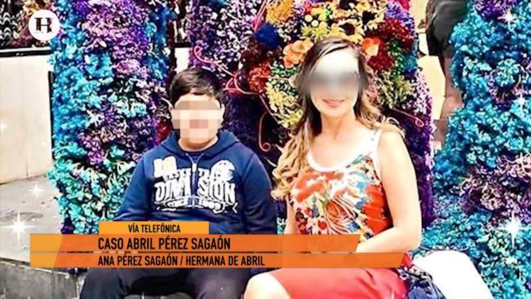Habla hermana de Abril Pérez Sagaón sobre procesos legales contra su exposo