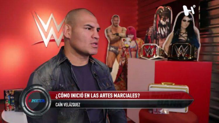 Caín Velásquez regresa a México para participar en la función de la WWE