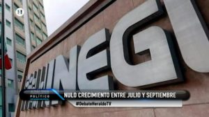 Recesión técnica El Heraldo TV Inegi Análisis Político Maximiliano Espejel