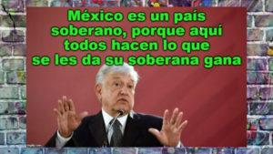 AMLO señala que no intervendrán personas armadas en territorio mexican memes preparan el fuchi guacala