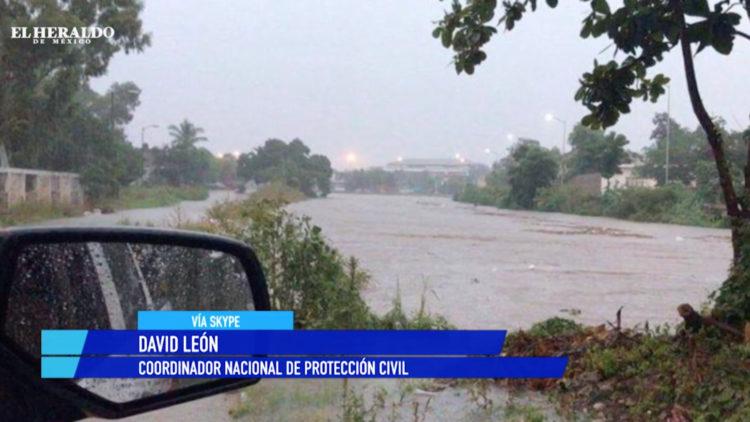 Una persona fallecida, una desaparecida y dos heridas por lluvias al norte del país David León