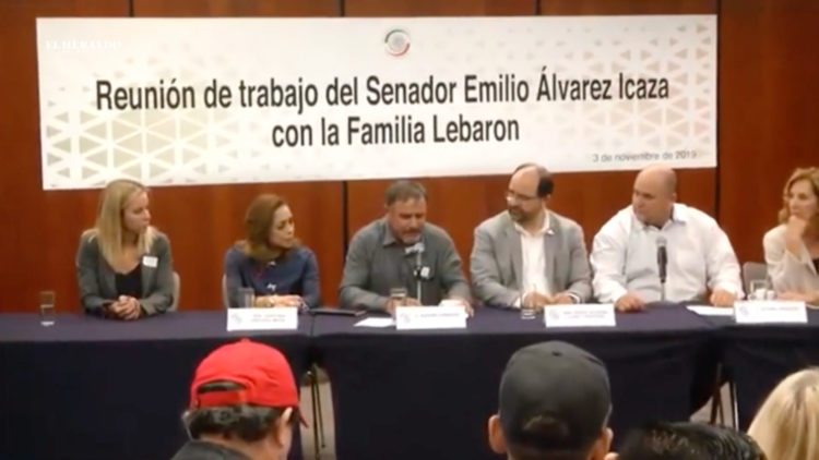 Familia LeBarón justicia Senado República