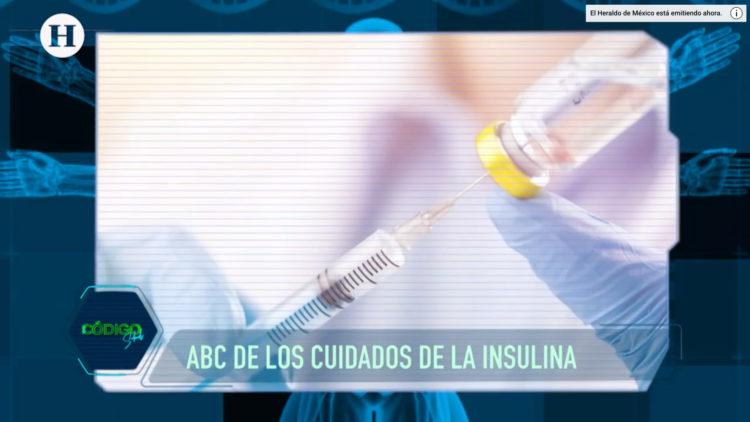 cuidar y administrar correctamente la insulina en sus pacientes