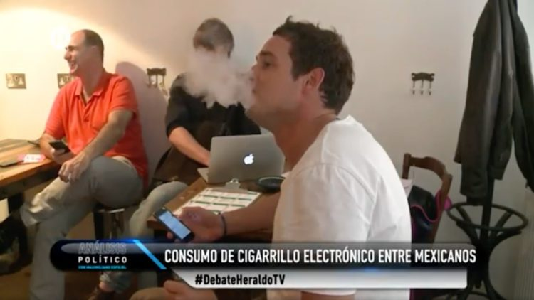 vapeo cigarro electrónico México El Heraldo TV
