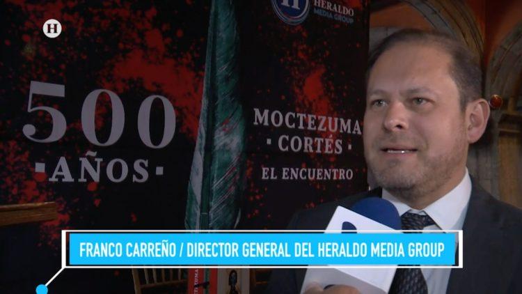 Moctezuma Hernán Cortes encuentro 500 años historia El Heraldo Media Group