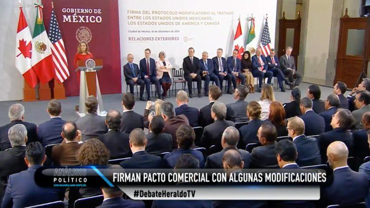 T-MEC Estados Unidos Canadá México El Heraldo TV