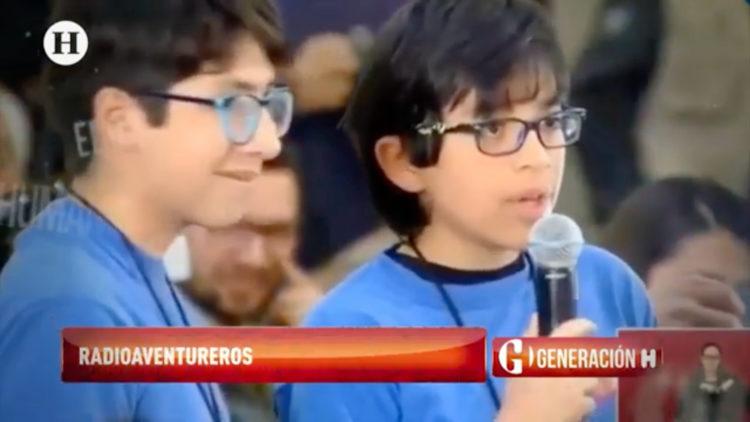 'Radioaventureros', niños informando y creando en la radio para niños
