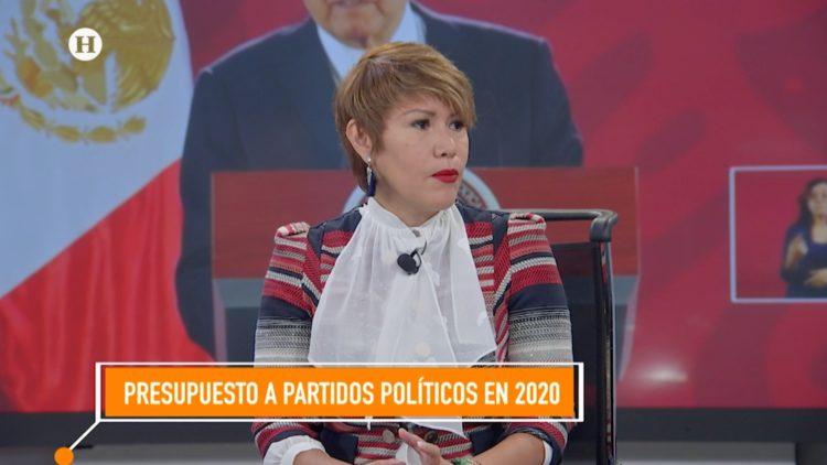 Presupuesto 2020 partidos políticos candidata independiente El Heraldo TV