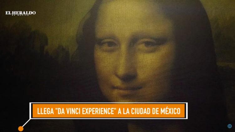 'Da Vinci Experience', un recorrido con realidad aumentada en la CDMX