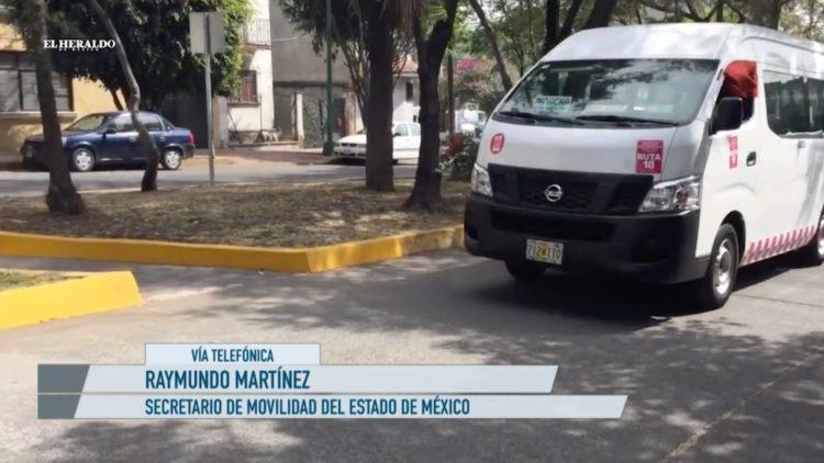 Raymundo Martínez aumento pasaje Edomex El Heraldo TV