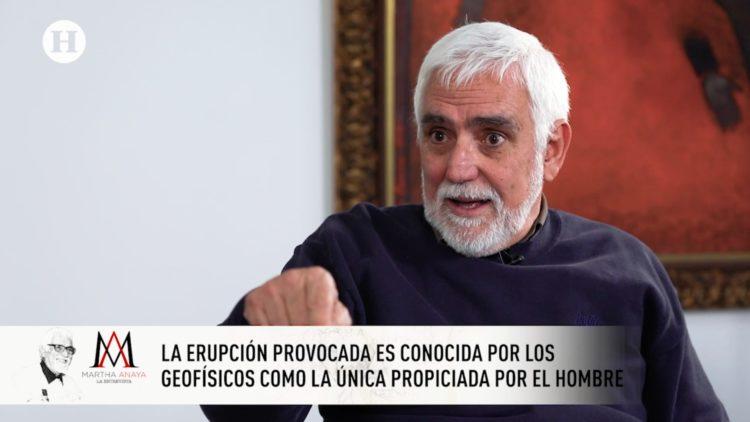 Aurelio Fernández, Volcán, Popocatepelt, BUAP, Martha Anaya, El Heraldo TV,