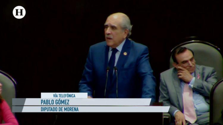 INE-Salarios-Morena-Pablo Gómez-Constitución-Violación-Leyes