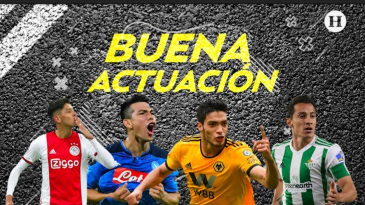 Así les fue a los jugadores mexicanos en el futbol internacional
