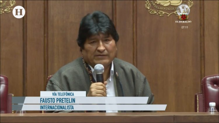 Evo Morales-Bolivia-México-Conflicto