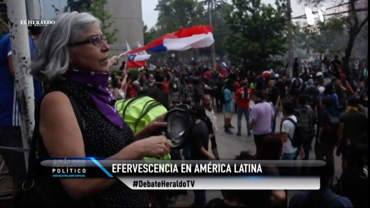 Bolivia Chile Ecuador hartazgo social El Heraldo TV