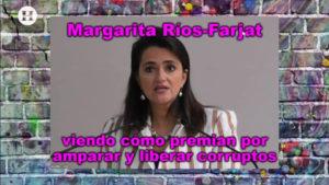 Margarita Ríos Farjat preside la SCJN; exfuncionario se jubila con más de un millón de pesos