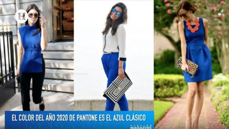 Moda 2020_ Azul, el color que reinará en las pasarelas