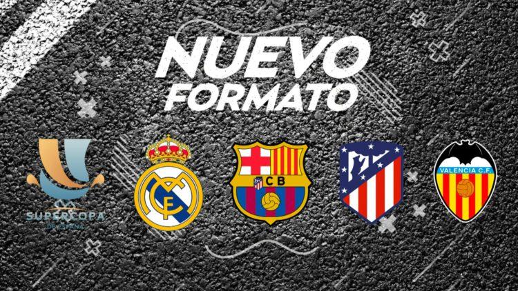 Nuevo formato de la Supercopa de España que se disputará en Arabia Saudita