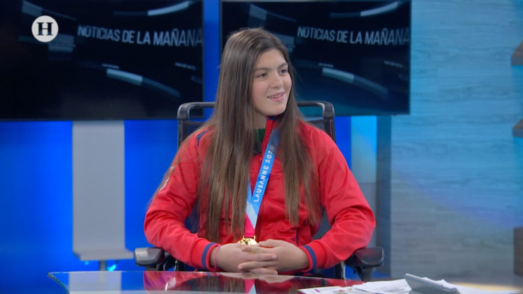 Luisa Wilson, México, Hockey, Deporte, ElHeraldoTV , NoticiasDeLaMañana, AlejandroCacho,