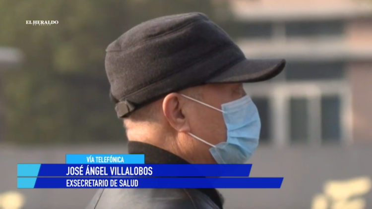Coronavirus China Jose Angel Villalobos Secretaria de Salud El Heraldo TV