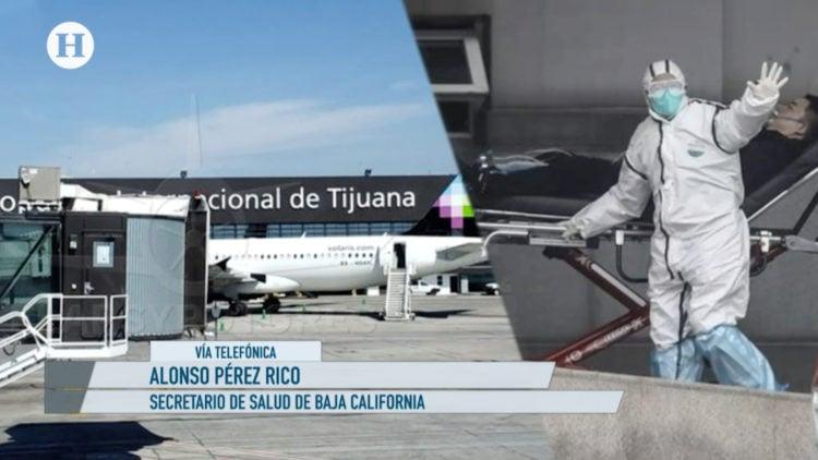 Coronavirus, Tijuana, Prevencion, Aeropuerto, sanidad, salud, ElHeraldoTV , NoticiasDeLaMañana, AlejandroCacho,