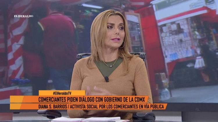 comerciantes ambulantes via publica violencia mujeres El Heraldo TV Claudia Sheinbaum