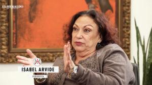 Isabel Arvide militares Ejército AMLO