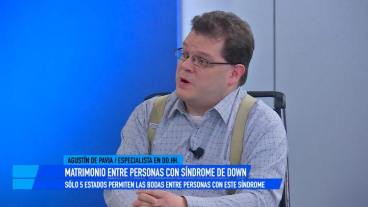 Agustín de Pavia, especialista en Derechos Humanos y directo
