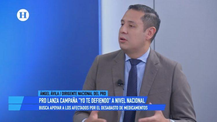 Ángel Ávila Romero, presidente del Partido de la Revolución Democrática (PRD)