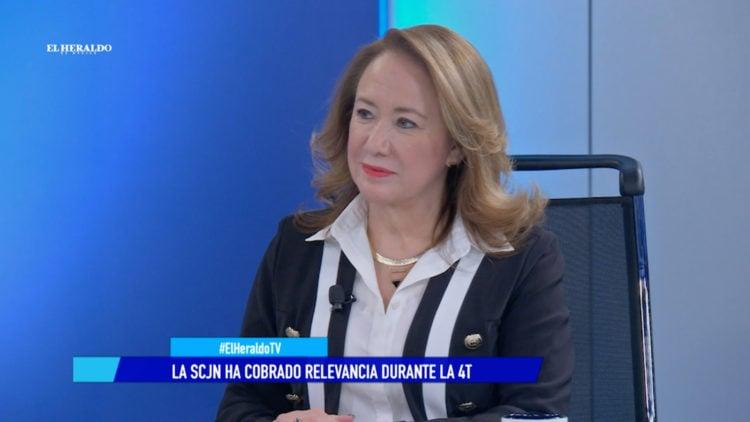 ministra Yasmin Esquivel Mossa Suprema Corte de Justicia de la Nacion genero