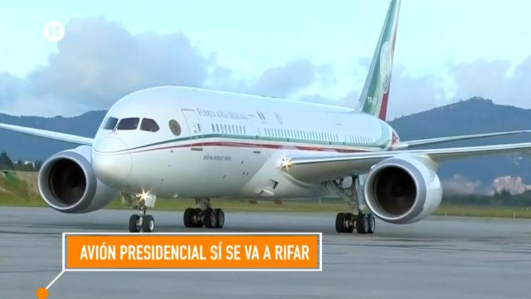 avión presidencial fallas averias AMLO Enrqiue Nieto Felipe Calderon