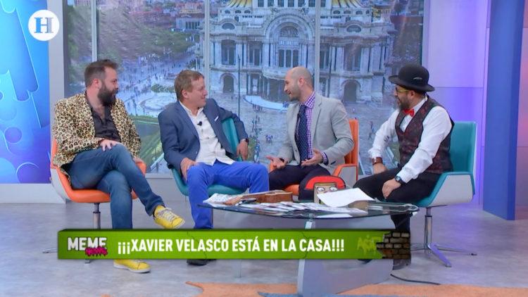 Xavier Velasco vivió historias papel