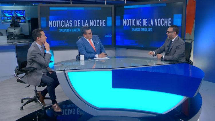 Emilio Lozoya Espana detencion debate Mario Maldonado