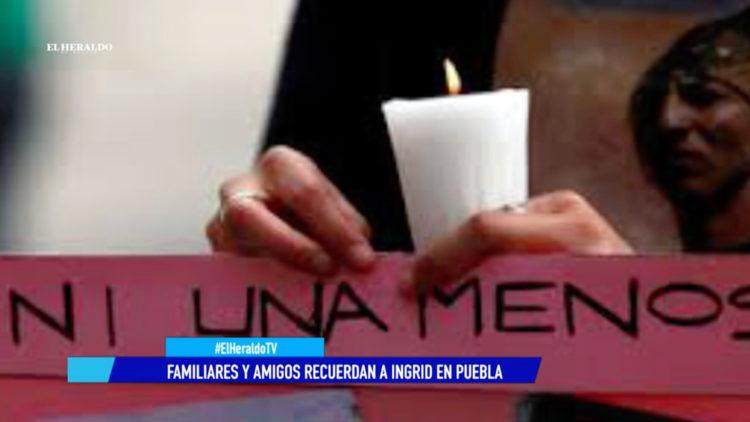 Ingrid Puebla feminicidio asesinato dan ultimo adios El Heraldo TV