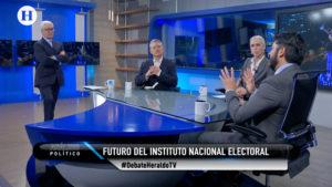 Futuro del INE y de los partidos politicos debaten expertos