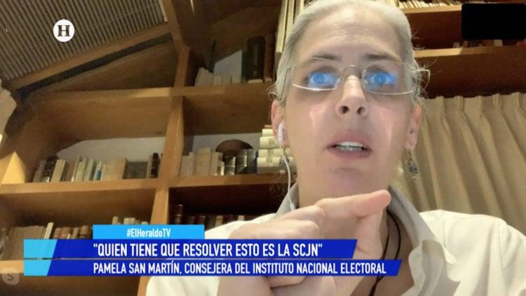 Pamela San Martin consejera INE Camara de Diputados controversia