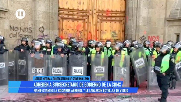 Seguridad Ciudadana no confrontará marchas de mujeres_ Gobierno de la CDMX