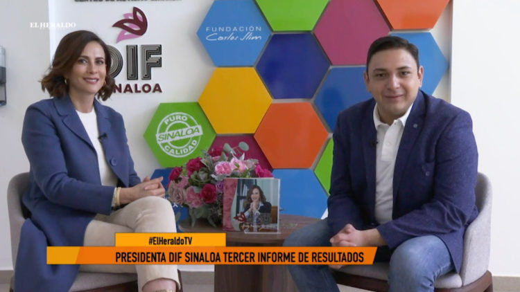 Rosy Fuentes de Ordaz presidenta DIF Sinaloa Manuel Zamacona