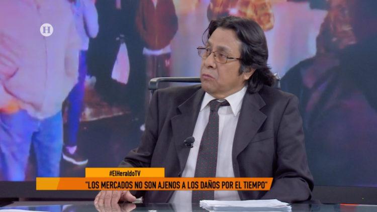 Edgar Alvarez mercados CDMX incendios accidentes El Heraldo TV