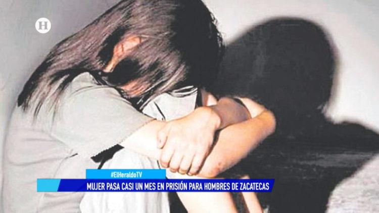 mujer carcel hombres Zacatecas recluida abusos El Heraldo TV