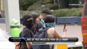 UNAM paro acoso violencia genero feminicidios