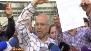 Israel Rivas habla sobre cancelar mesas de diaologo con gobierno