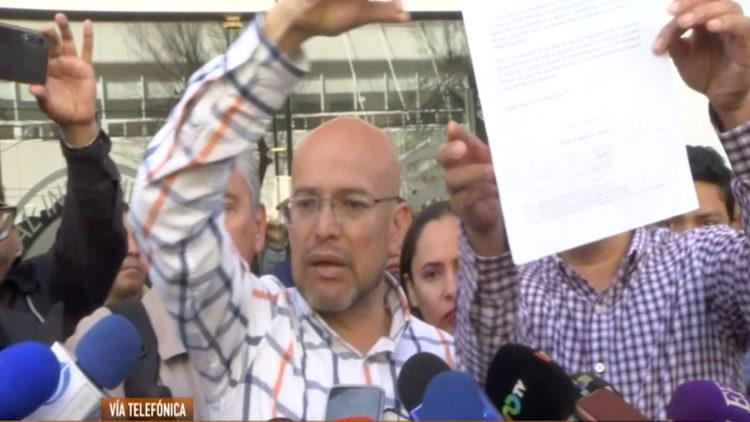 Israel Rivas papa nina con cancer cancelan mesa dialogo gobernacion